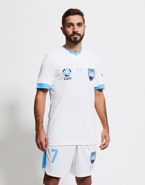 Sydney FC 19/21 UA Youths Away Jersey - Customised