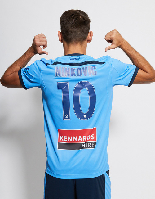Sydney FC 19/21 UA Youths Home Jersey - Customised
