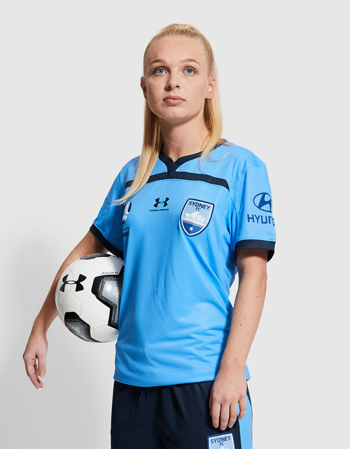 Sydney FC 19/20 UA Womens Home Jersey - Customised