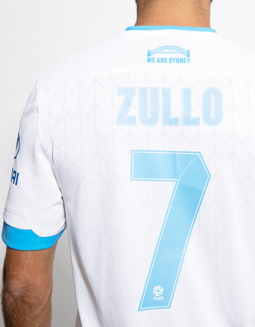 Sydney FC 19/21 UA Adults Away Jersey - Customised