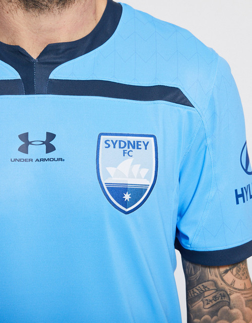 Sydney FC 19/21 UA Adults Home Jersey