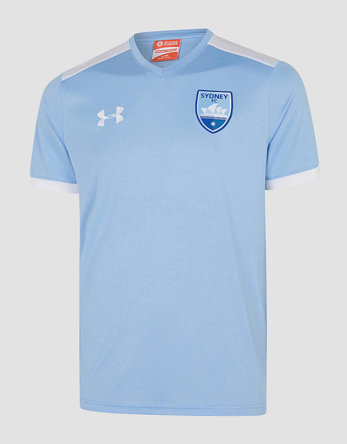Sydney FC 19/20 UA Adults Threadborne Training Tee