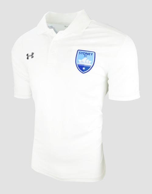 Sydney FC 19/20 UA Adults Team Polo White