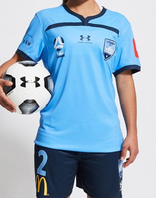 Sydney FC 19/21 UA Womens WWL Home Jersey