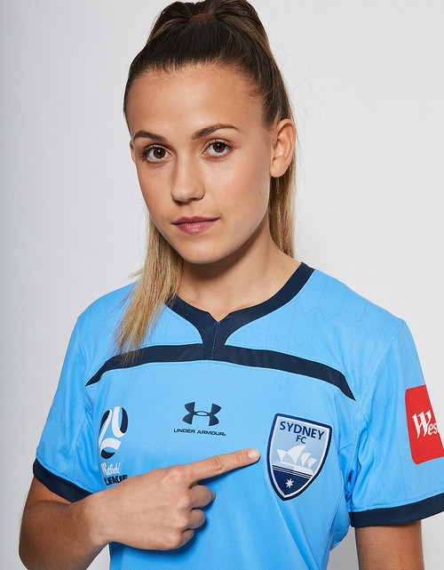 Sydney FC 19/20 UA Womens WWL Home Jersey - Customised