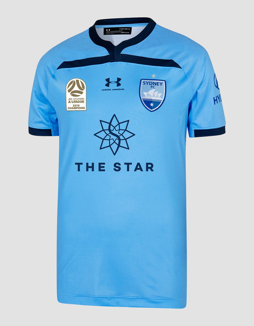 Sydney FC 2019 Champions UA Adults Home Jersey