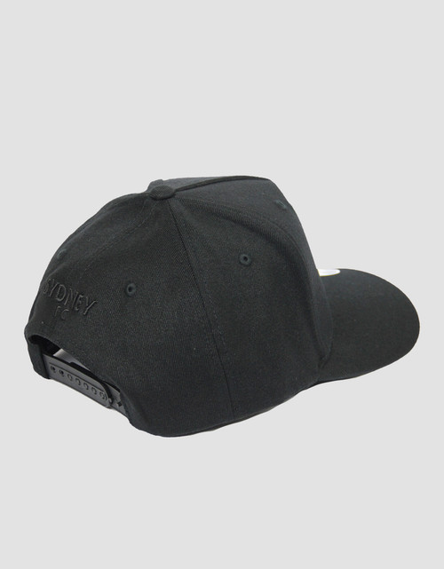 Sydney FC Flexfit A-Frame 110 Snapback Cap Black