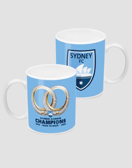 Sydney FC 2020 Champions Mug