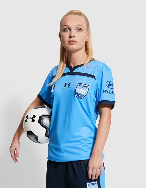 Sydney FC 19/21 UA Womens Home Jersey - CHAMPIONS 20