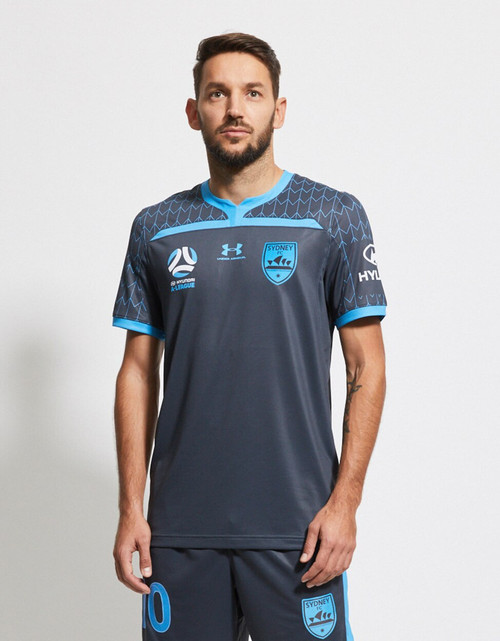 Sydney FC 19/20 UA Youths Third Jersey - CHAMPIONS 20