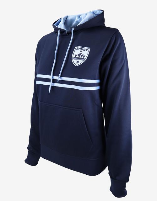 Sydney FC Womens Dual Stripe Hoody