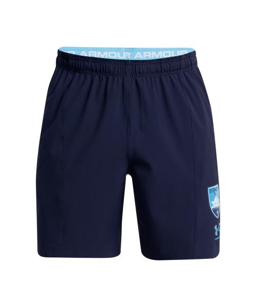 Sydney FC 21/22 UA Adults Touchline Training Shorts Navy