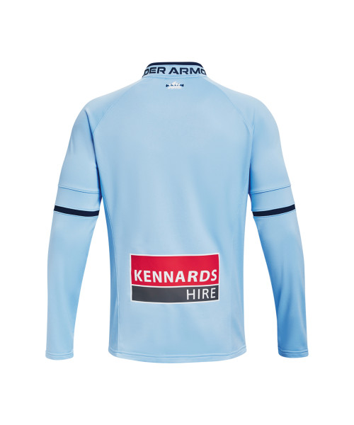 Sydney FC 21/22 UA Adults Challenger III Midlayer Sky Blue