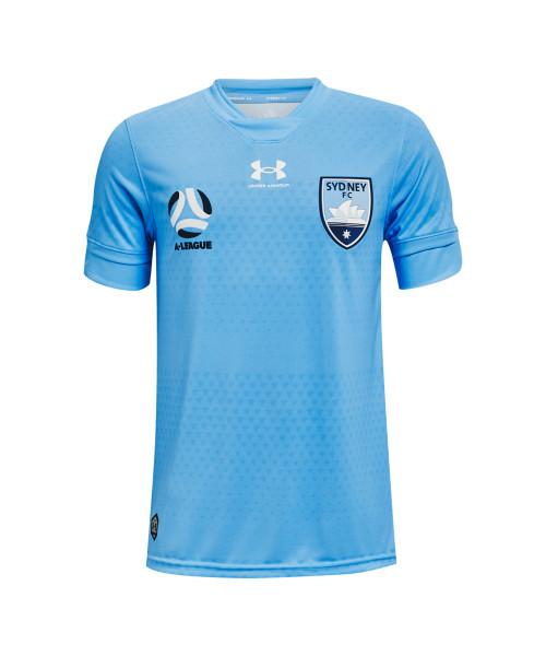 Sydney FC 21/22 UA Youths Home Jersey