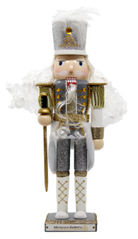 Moscow Ballet's Limited Edition Nutcracker Soldier Silver Front