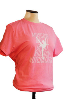 Moscow Ballet's 2017 Cast Tee Pink Close-up Design