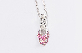 Moscow Ballet's Swarovski Pink Pointe Shoe Necklace