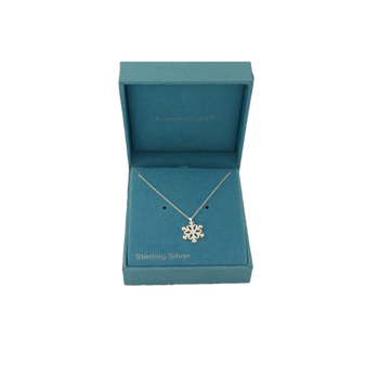 Moscow Ballet's Snowflake Necklace in Box