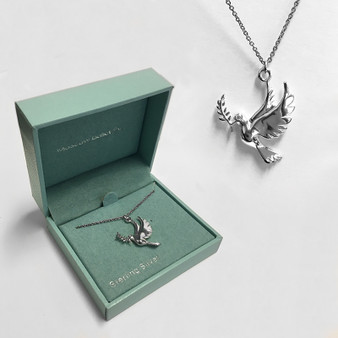 Moscow Ballet's Dove of Peace Pendant with Branded Box