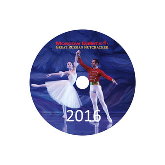 Moscow Ballet's Great Russian Nutcracker Dance with Us Performance DVDs from 2016