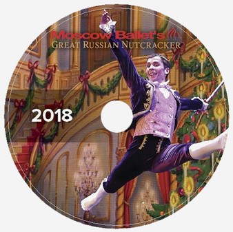 Moscow Ballet's Great Russian Nutcracker Dance with Us performance DVDs from 2018