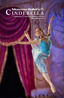 Moscow Ballet's Cinderella 25th Anniversary Poster