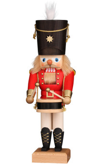 Ulbricht Red Drummer Nutcracker