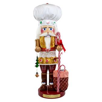 Moscow Ballet's Steinbach Gingerbread Chef Santa Nutcracker from Kurt Adler
