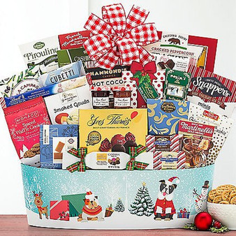 Pawsitively Amazing Christmas: Gourmet Holiday Basket