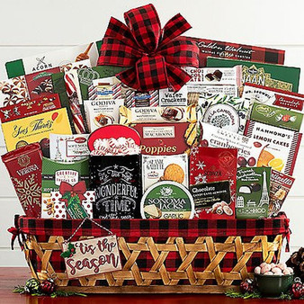 Tis' The Season Large Gourmet Basket