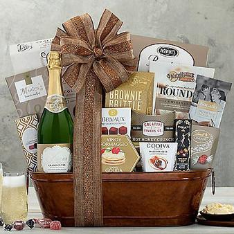 Sparkling Surprise: Champagne Gift Basket