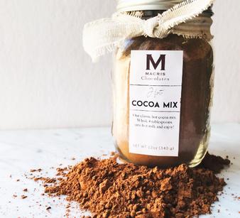 Moscow Ballet and Macris Chocolates Mason Jar Hot Chocolate Mix