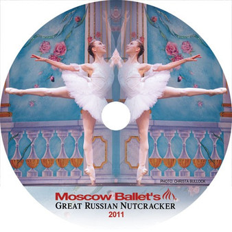 Moscow Ballet's Great Russian Nutcracker Dance with Us performance DVDs from 2011