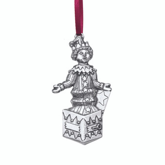 Jack in the Box Danforth Pewter and Moscow Ballet Hanging Christmas Tree Ornament