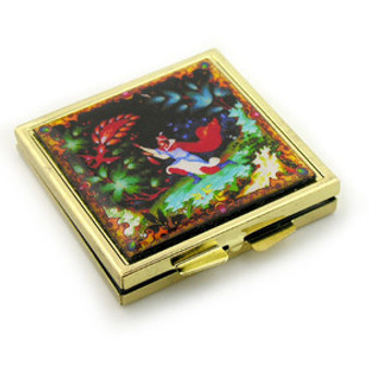 Folk image compact mirror from Moscow Ballet