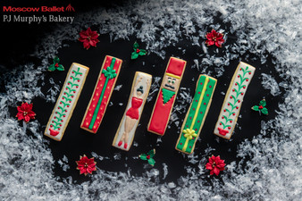 Great Russian Nutcracker cookies delivered by PJ Murphy's with Moscow Ballet