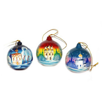 Moscow Ballet Surprise Globe Ornaments Assorted Designs