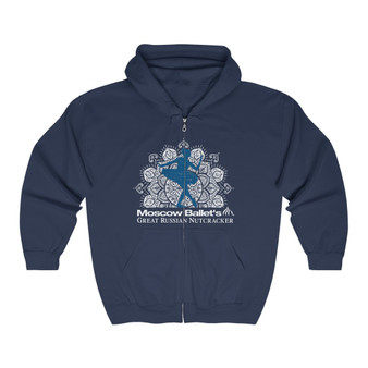 Super Soft Snowflake Zip Up Sweatshirt
