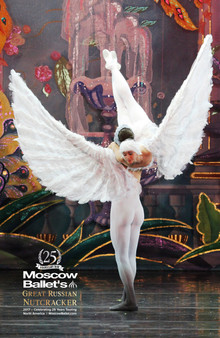 Moscow Ballet's Great Russian Nutcracker Exclusive Dove of Peace poster