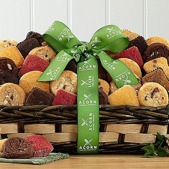 Collection of 30 Brownies, Cookies & Cakes: Gourmet Bakery Basket