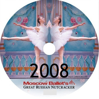 2008 Great Russian Nutcracker DVD W/Dance with Us Kids