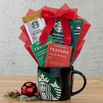 Starbucks mug gift set courtesy of Great Arrivals and Moscow Ballet