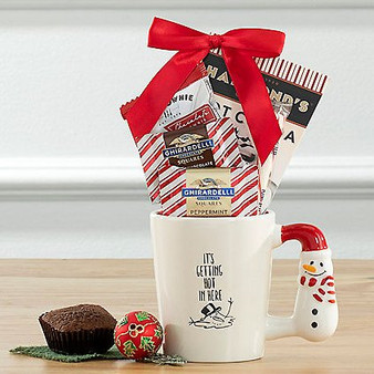 Novelty Mug, Cocoa and Treats Set from Great Arrivals and Moscow Ballet