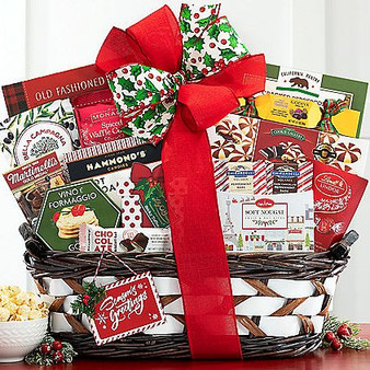 Season's Greetings Festive Basket from Great Arrivals and Moscow Ballet