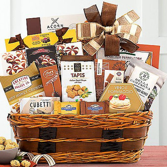 Enjoy Sweet and Savory Traditions with this Basket from Great Arrivals and Moscow Ballet