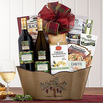 Briar Creek Duet Wine Basket from Great Arrivals and Moscow Ballet