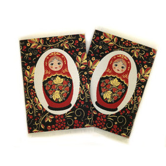 Tapestry Coasters, set of 2, made in Turkey and from Moscow Ballet
