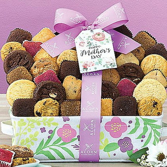 Say Happy Mother's Day with this Gourmet Bakery Basket of Cookies, Brownies and Cake