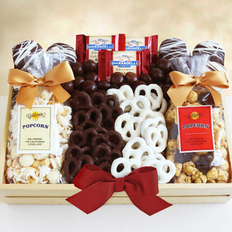 Moscow Ballet and Great Arrivals' Sweet and Crunchy Snacks Gift Crate