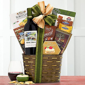 Rock Falls Cabernet Wine Basket from Moscow Ballet and Great Arrivals